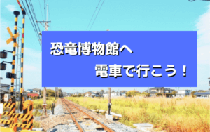 恐竜博物館へ福井駅から電車でアクセス!所要時間や運賃まで解説!